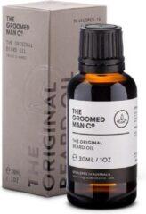 The Groomed Man Co. The Original Beard Oil - Premium Baardolie - Stimuleert Baardgroei - Baard Verzorging Mannen - Geurloze Olie - 30ML
