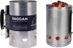 Grijze VAGGAN BBQ Starter Metaal