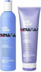 Milk_shake Milk shake Silver Shine gamma DUO pakket (Shampoo + Verzorging)
