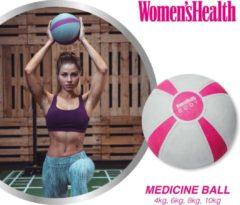 Grijze Women's Health Medicine Ball 6 kg - Medicijnbal – wall ball - fitnessaccessoires - Home Fitness