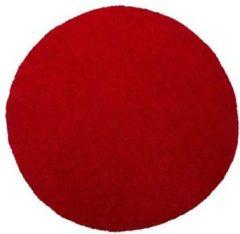 Beliani DEMRE Vloerkleed Rood Polyester 80 x 150 cm