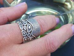 Marutti zilveren ring