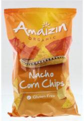 Amaizin Corn Chips Organic Nacho (150g)