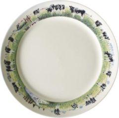 Wiebe van der Zee Landelijk Dinerbord - Ø 25 cm - Wit