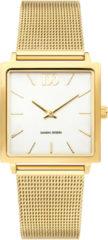 Gouden Danish Design watches edelstalen dameshorloge Miami Gold Mesh IV05Q1248