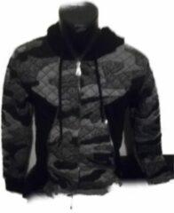 Grijze Merkloos / Sans marque Cloup vest