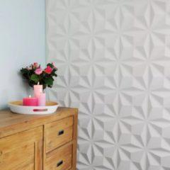 Witte WallArt 3D wand panelen Cullinans 12-delig GA-WA17