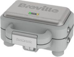 Grijze Breville VST070X DuraCeramic Sandwich & Tosti maker