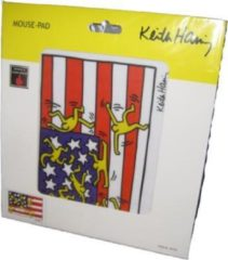 Eminent Keith Haring Mouse Pad Multi kleuren