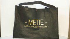 Gouden Merkloos / Sans marque Vilten tas 'METIE' like a mom...