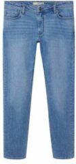 MANGO Jan slim fit jeans met medium wassing