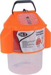 DLT Collapsibale Bait Bucket - Emmer - Oranje