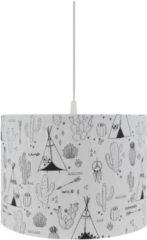 Bink Bedding Indiana Soft Hanglamp Zwart / Wit