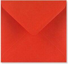 FreshPaper Rode enveloppen 15,5x15,5 cm 100 stuks
