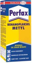 Perfax Metyl Behanglijm Behangpoeder Behangplaksel - 125 Gram - Normaal & Zwaar Behang - Transparant