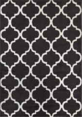 Impression Carpets Passion Casablanca Vloerkleed Grijs / Wit Laagpolig - 80x150 CM
