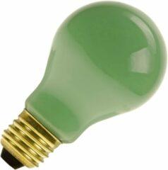 Huismerk gloeilamp Standaardlamp groen 15W grote fitting grote fitting E27