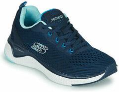 Blauwe Fitness Schoenen Skechers SOLAR FUSE COSMIC VIEW