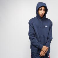 Marineblauwe Nike Sportswear Club Fleece Hoodie Heren