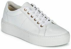 Witte Lage Sneakers Vagabond Shoemakers ZOE PLATFORM