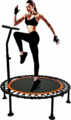 Oranje Maxxsports MaxxSport Trampoline - Jump - Fitness - Ronde volwassene of kindertrampoline - 100 cm