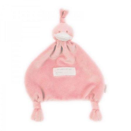 Afbeelding van BamBam Duck Tuttle roze knuffeldoekje
