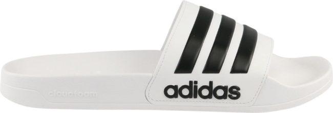 Afbeelding van Adidas Adilette Shower Teenslippers en sandalen Heren wit Schoenmaat UK 13 | 46 2/3