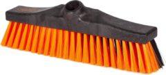 Oranje KERSTAANBIEDING - OrangeBrush -Combi bezem- 30 cm -harde en zachte haren - Gemaakt van gerecycled kunststof - OB20330