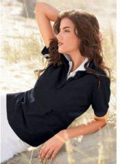 Zwarte Casual Looks poloshirt in prachtige zomerkleuren