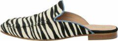 KUNOKA Barbara zebra - Sneakers Dames - maat 40 - Wit Zwart Blauw