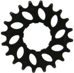 Vebos Tandwiel kmc e-bike achter nuvinci 20t cro-mo staal zwart 332 - ZWART