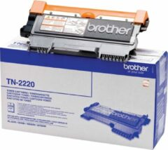 Brother Tonercassette TN-2220 TN2220 Origineel Zwart 2600 bladzijden