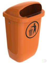 Sulo Buitenafvalbak DIN-PK 50 liter oranje