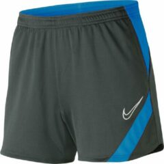 Blauwe Nike Dri-Fit Academy Pro Training Short Dames
