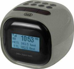 Zwarte Trevi RC80D2 DAB - Klokradio met digitale ontvanger DAB / DAB+ / FM - metaal