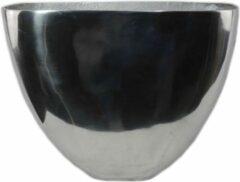 Sense Ovaal vaas - Aluminium vazen - Bloemvaas - Vaas gepolijst - Bloempotten - Vensterbank vaas- boeket vaas