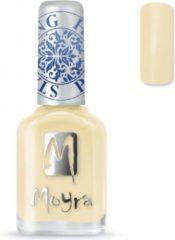 Moyra Stamping Nail Polish 12ml SP17 VANILLA