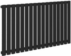 Eastbrook Tunstall horizontaal radiator mat zwart 600 x 589mm ( afgebeeld is de 600 x 1002mm)