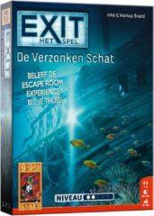 999 Games EXIT De Verzonken Schat Breinbreker - Escape Room - Bordspel