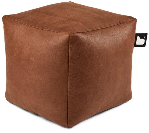 Afbeelding van Bruine B-bag extreme lounging Extreme Lounging B-Box Poef Indoor - Chestnut