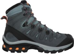 Wanderstiefel QUEST 4D 3 GTX 401566 mit GTX-Membran Salomon Lead/Stormy Weather/Bird Of Paradis