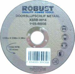 Doorslijpschijf Metaal Robust XSRB-0018 125Mm X 22Mm X 3Mm Set 5 Stuks