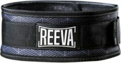 Grijze Reeva lifting belt(nylon) - gewichthefriem - L (unisex)