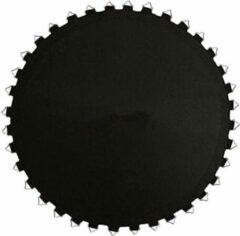 Zwarte AIRJUMP Springmat Trampoline 366 cm voor 80 veren van 18 cm