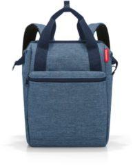 Blauwe Reisenthel Travelling Allrounder R twist blue backpack