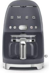 Donkergrijze Smeg 50's Style koffiezetapparaat DCF02GREU