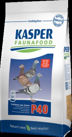 Afbeelding van Kasper Faunafood Voedsel hobbyline p40 krachtvoer voor duiven 4 kg