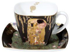 Der Kuss Kaffeetasse Artis Orbis Goebel Schwarz