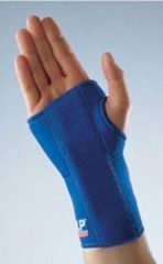 LP Support Polsbrace - Links - Blauw
