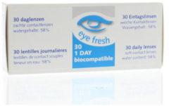 Eye Fresh Eyefresh Daglenzen -0.75 1x30 Stuks